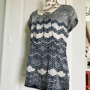 CAbi Chantilly Silk Tunic